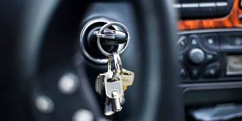 pamesti automobilio raktai
